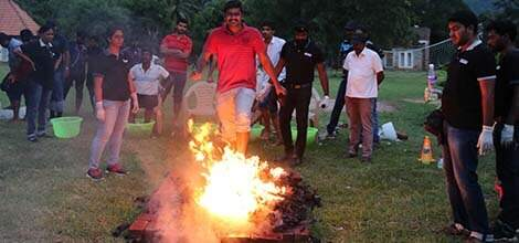 Fire Walking in India