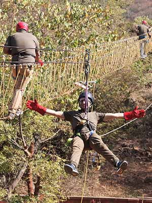 Leading Corporate Outbound Training, Team Building, Team Outing, Corporate Training Company in Dandeli
