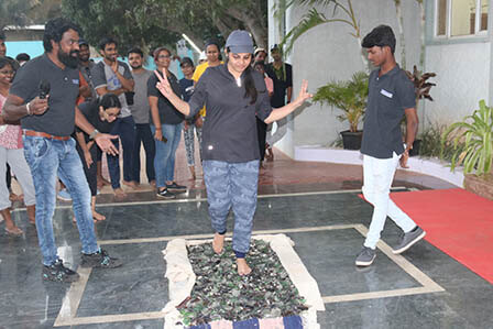 Glass Walk Activity in India