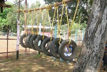 Tarzan Swing Team Building Activity