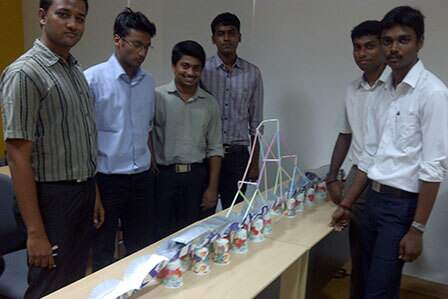 Bridge Building Team Activity