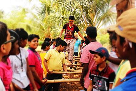School and College Students Team Building Program