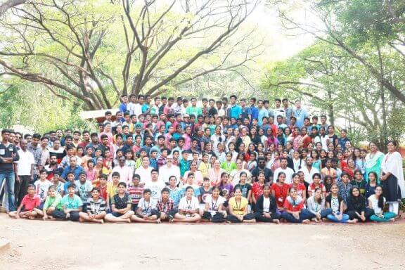 Outbound Training to Chinmaya Vidyalaya Students in Coimbatore