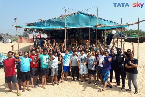 Outbound Training to Tata Sky