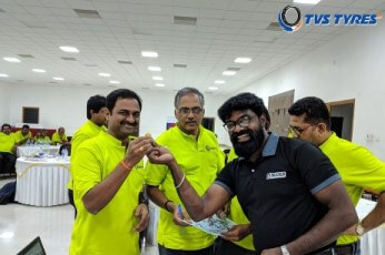 Outbound Training to TVS Srichakra Tyres